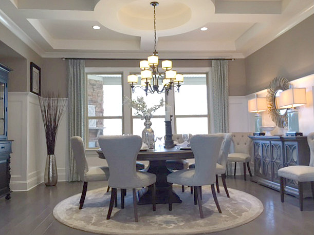 Mattamy Vanderbilt Model's Formal Dining Room