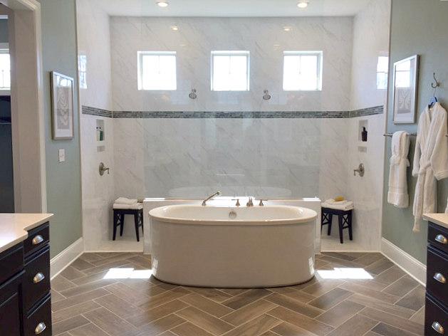 Mattamy Vanderbilt Model's Master Bath with Luxurious Shower