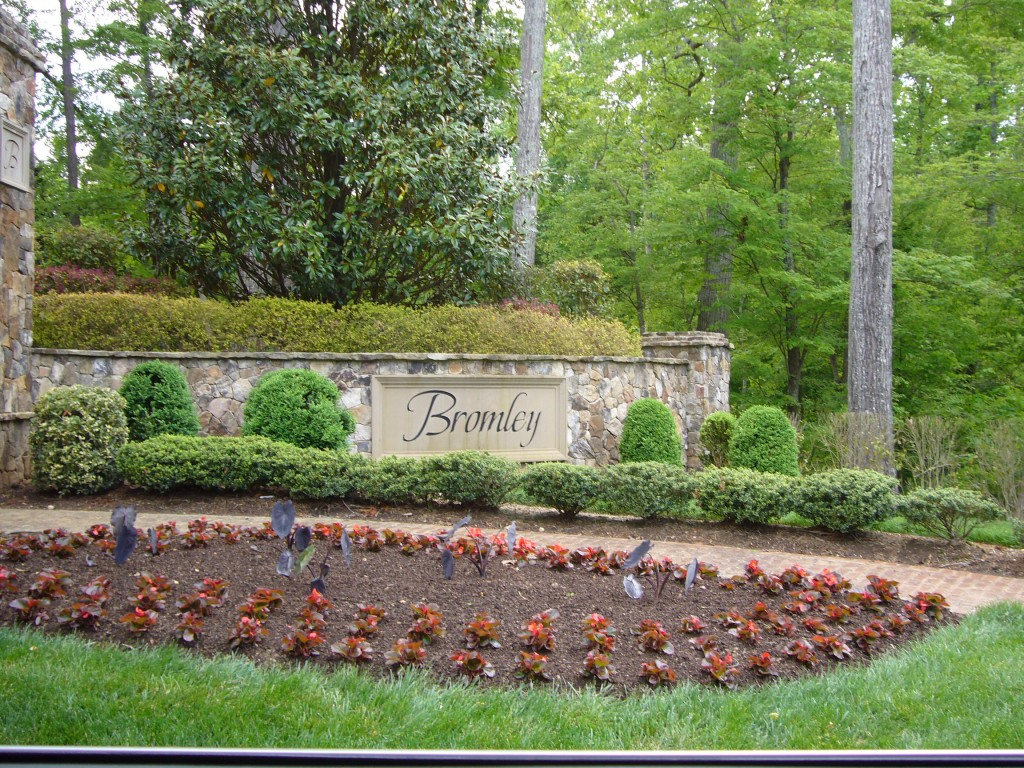 Bromley Estates at Weddington entrance