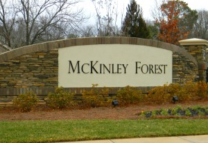 Entrance to McKinley Forest