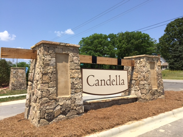 Candella Entry Sign