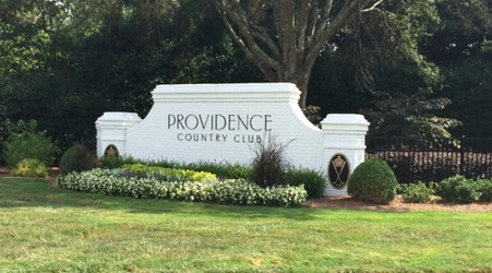 Providence Country Club Entrance