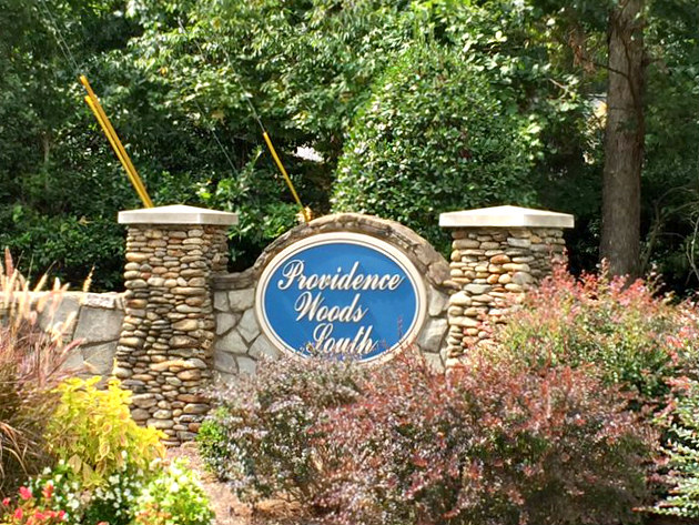 Neighborhood Entry Sign