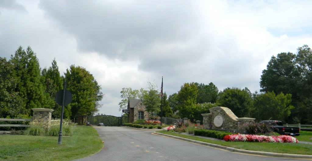 Neighborhood Entrance