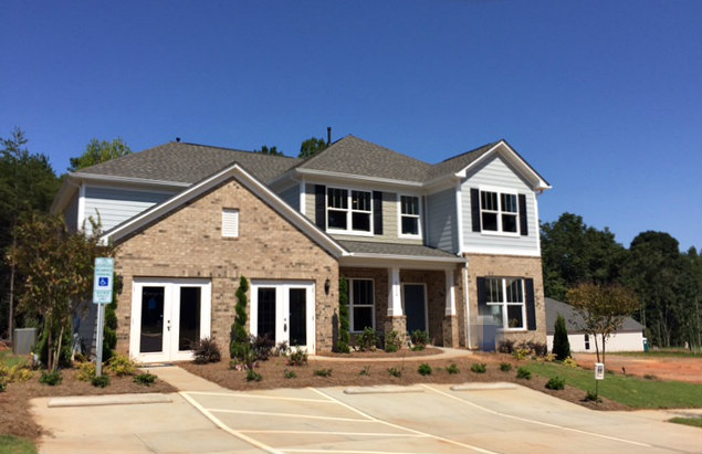 Pulte's new Model Home in Tilley Manor