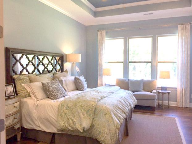 Master Bedroom in Bonterra's Model Home