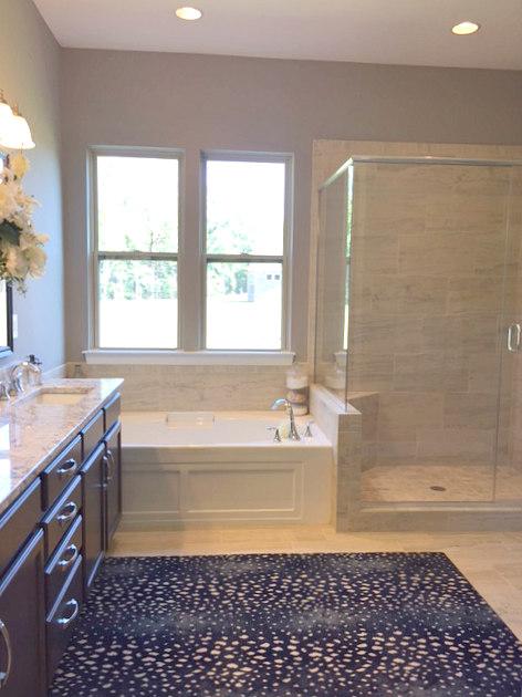 Master Bath in Bonterra's Model Home